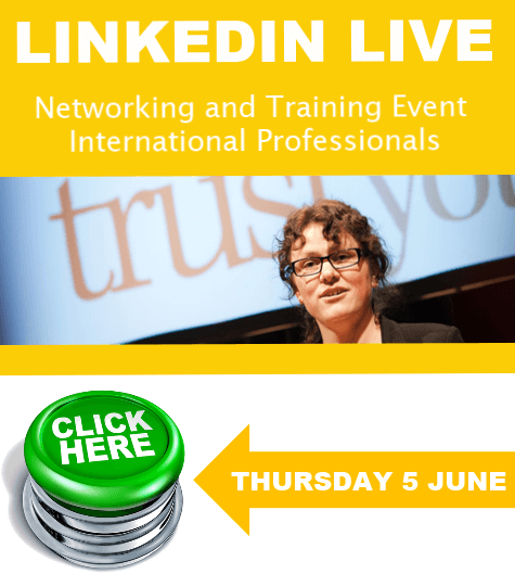 Click for more information about THE LinkedIn Training and Networking Event for International Professionals