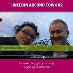 LinkedIn around Town: bikes and status updates