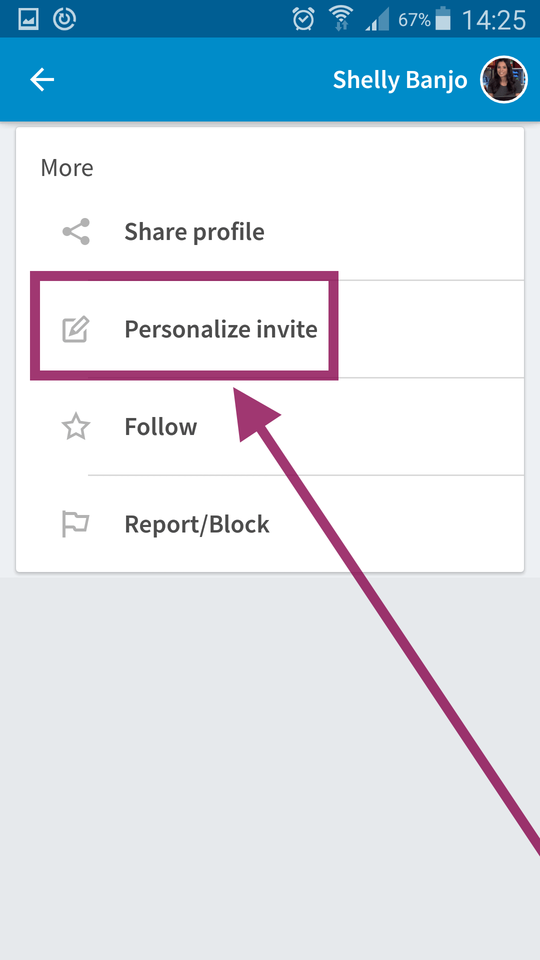 Are personalised linkedin invites even visible reading time 2 min you can also send personalised linkedin invites from your phone stopboris Images