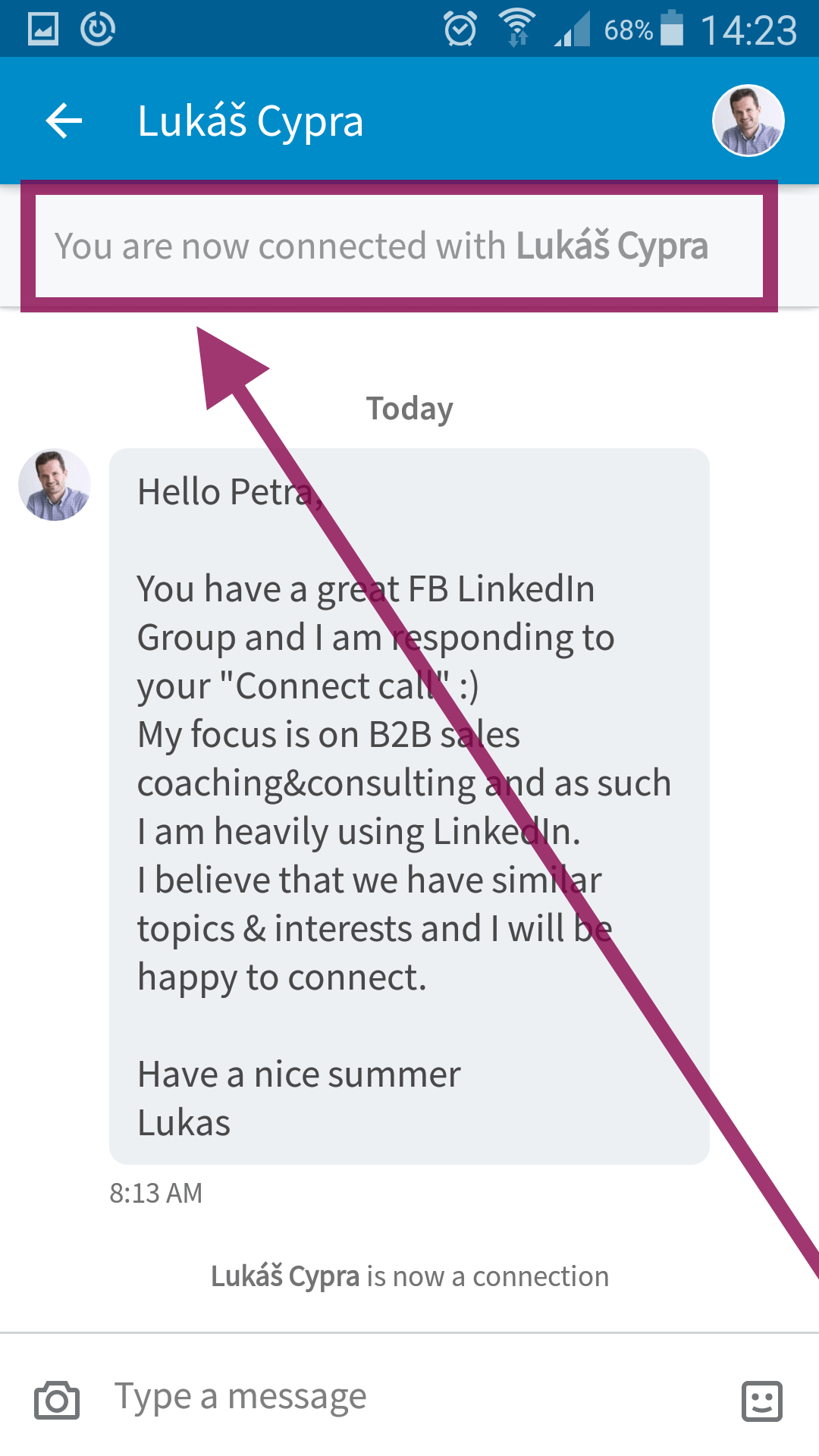 Are personalised linkedin invites even visible reading time 2 min the actual text of the invite is visible in the chatscreen first image below that was missing for the longest time same applies if you were the one to stopboris Images