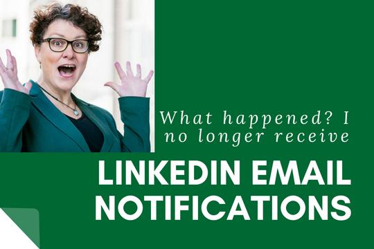 LinkedIn Notifications: Pesky Little Settings Change.