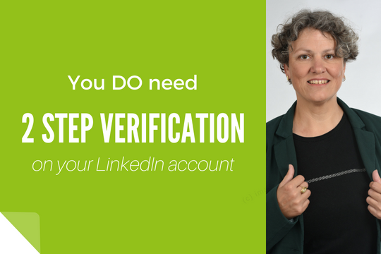 Yes LinkedIn 2 step verification is annoying, so is having your account hacked!